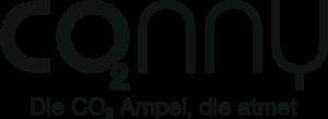 Co2Ampel Conny Logo mit Slogan